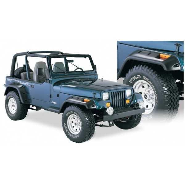 Elargisseur d'ailes BUSHWACKER Jeep Wrangler YJ 1987-1995