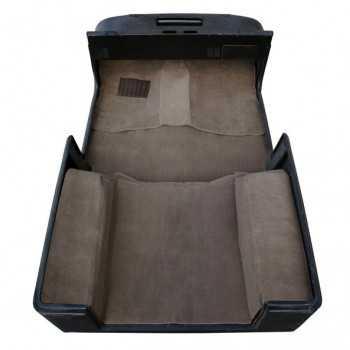 Tapis moquette de luxe brun Jeep Wrangler TJ 97-06