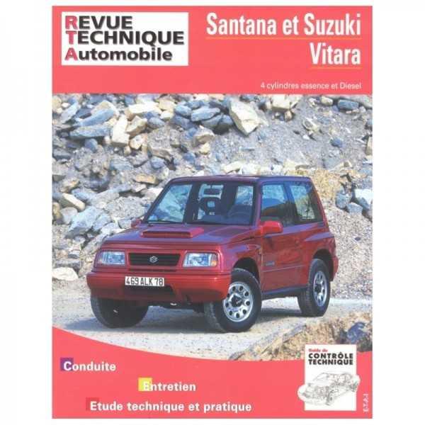 Revue technique Suzuki Vitara essence et diesel 1990-1997