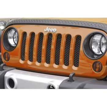 Enjoliveur de calandre noire Jeep Wrangler JK 2007-2018
