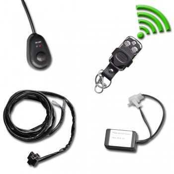 Faisceau telecommandé sans fil pour barre a leds