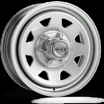 Jante acier DOTZ PHARAO grise 6X15 Suzuki Jimny