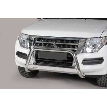 Medium bar inox 63 mm Mitsubishi Pajero DID 2015+
