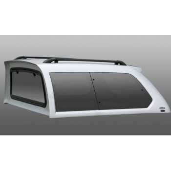 Hard top ALPHA blanc Mitsubishi L200 K74 2 portes 1996-2005