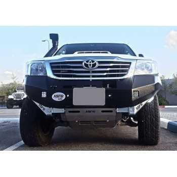 Pare choc ASFIR avec support de treuil Toyota Hilux Vigo 2005-2011 avec elargisseurs