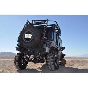 Pare chocs arrière aluminium Jeep Wrangler 2007-2018
