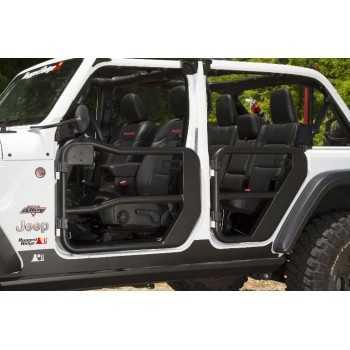 Jeu de demi-portes avant Jeep Wrangler JL 2018-2019