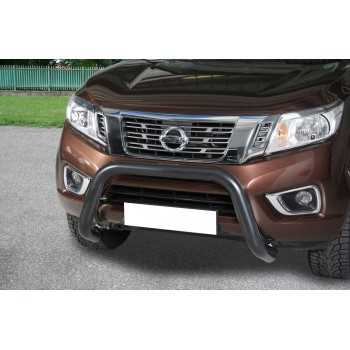 Super bar noir diamètre 76 mm Nissan Navara NP300 2016-