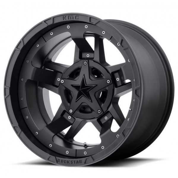 Jante XD 822 Monster II matte noir 9X17 Nissan Navara D40