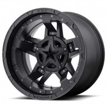 Jante XD 827 RS3 noir mat 8X17 Nissan Navara NP300 2005-2021