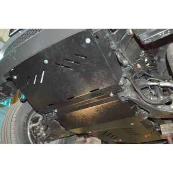 Blindage moteur aluminium Mitsubishi L200 05/2006-09/2015