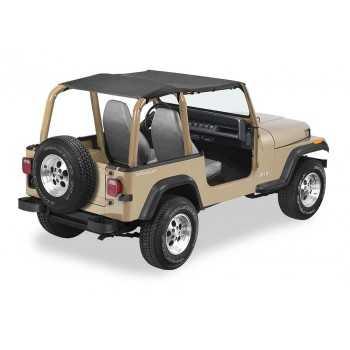 Bikini® Tops Bestop® SAFARI NOIR Jeep Wrangler 1992-1995