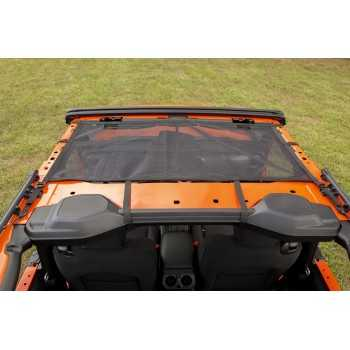 Filet de protection solaire avant Jeep Wrangler JL 2018+ 2 portes
