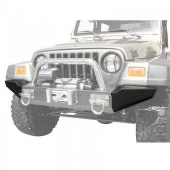 Embout de pare choc noir large Jeep CJ 76-86 YJ&TJ 87-06