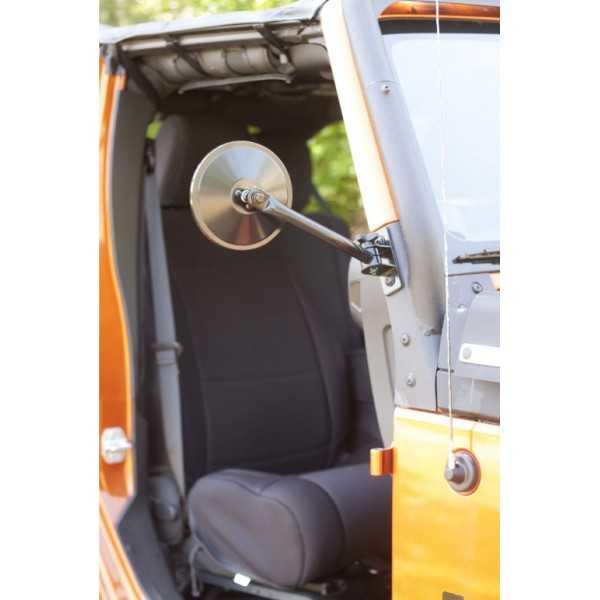 Rétroviseur noir Jeep Wrangler 1997 à 2018