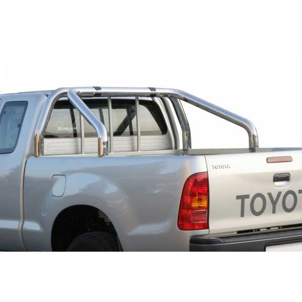 Arceau de benne 2 tubes Toyota Hilux Vigo 2 et 4 portes 2005-2015