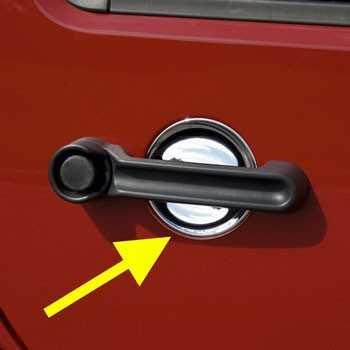Protection d'intérieur de poignée de porte Jeep JK 2 portes 2007-2018