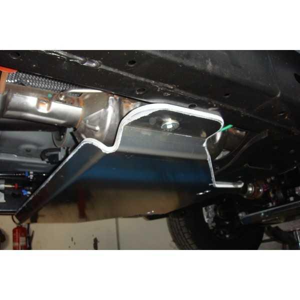 Blindage boite de vitesse + boite de transfert aluminium 8 mm Ford Ranger 2012+