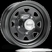 Jante acier DOTZ DAKAR noire 7,5X18 Nissan Navara NP300 2016-