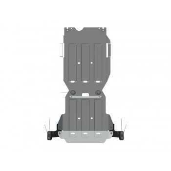 Blindage bv+bt aluminium Isuzu D-Max 07/2012-