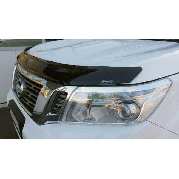 Deflecteur de capot teinté Nissan Navara D40 2005-2010