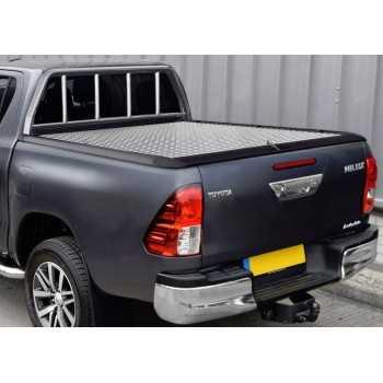 Tonneau cover aluminium MOUNTAIN TOP Toyota Hilux xtracab 2016+