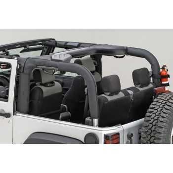 Housse de protection d'arceaux polyster Jeep Wrangler JK 2007-2018 2 portes