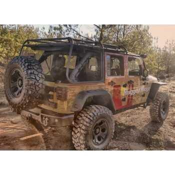 Galerie RUGGED RIDGE Jeep Wrangler JK 4 Portes 2007-2018