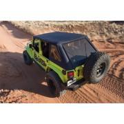 Capotage Bestop® trektop noir Jeep Wrangler JL 2018+ 4 portes