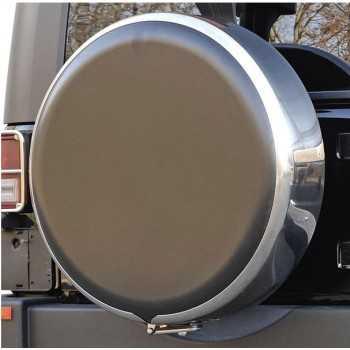Disque de protection en abs noir pour couvre roue diam.: 76 cm