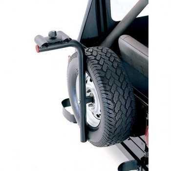 Porte vélo sur roue de secours pour toutes les JEEP