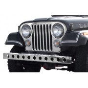 Pare choc avant inox avec trou Jeep CJ 1955-1986