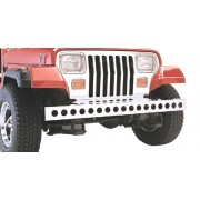 Pare choc avant inox avec trous Jeep YJ 1987-1995