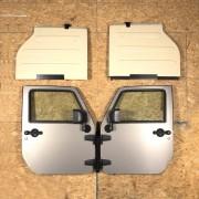 Kit de rangement mural Jeep Wrangler JK 2007-2018