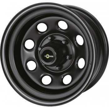 Jante acier Goss Soft8 Black Mat 8X17 Toyota-Nissan-Mitsubishi-Ford 6 trous 139,7 déport -10