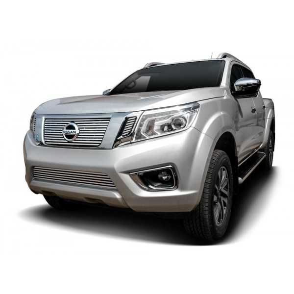 calandre inox nissan navara np300 2016 cash 4x4 equipements. Black Bedroom Furniture Sets. Home Design Ideas
