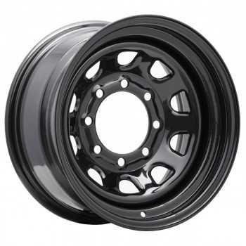 Jante acier Pro Comp Rock Crawler Series 51 noire 8X16 8 trous 165,1