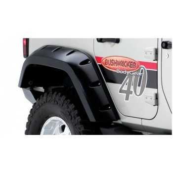 Elargisseurs d'ailes arriere BUSHWACKER Jeep Wrangler JK 2007-2017