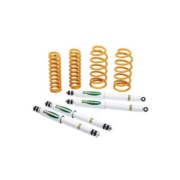 Kit suspension IRONMAN amortisseur réponse Land Rover Defender 90 1984- médium