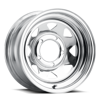 Jante acier chromee 8X15 Toyota-Nissan-Mitsubishi