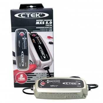 Chargeur de batterie CTEK MXS 5.0