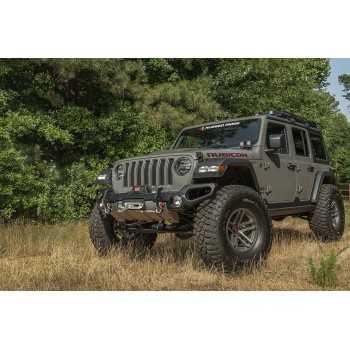 Pare-chocs avant Venator avec support de treuil Jeep Wrangler JL 2018-