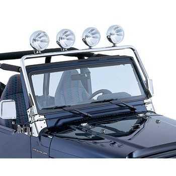 Support de phare sur pare brise Jeep Wrangler TJ 97-2006