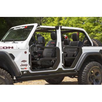 Jeu de demi-portes avant avec retroviseur Jeep Wrangler JL 2018-2019