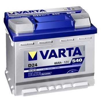 Batterie VARTA BLUE dynamic 12 V 60 A