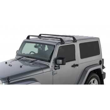 Kit de barres de toit RHINO RACK  Jeep Wrangler 1987-2018 2 portes