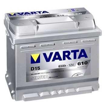 BATTERIE VARTA SILVER dynamic 12 V 63A + A DROITE