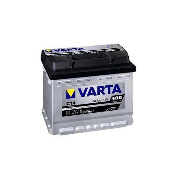 BATTERIE VARTA BLACK dynamic 12 V 90 A + A DROITE
