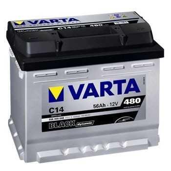 BATTERIE VARTA BLACK dynamic 12 V 56 A + A GAUCHE