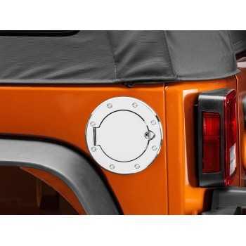 Bouchon de reservoir inox Jeep Wrangler JK 2007-2018